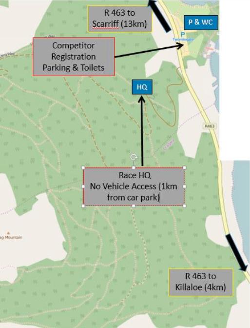Map for killaloe enduro
