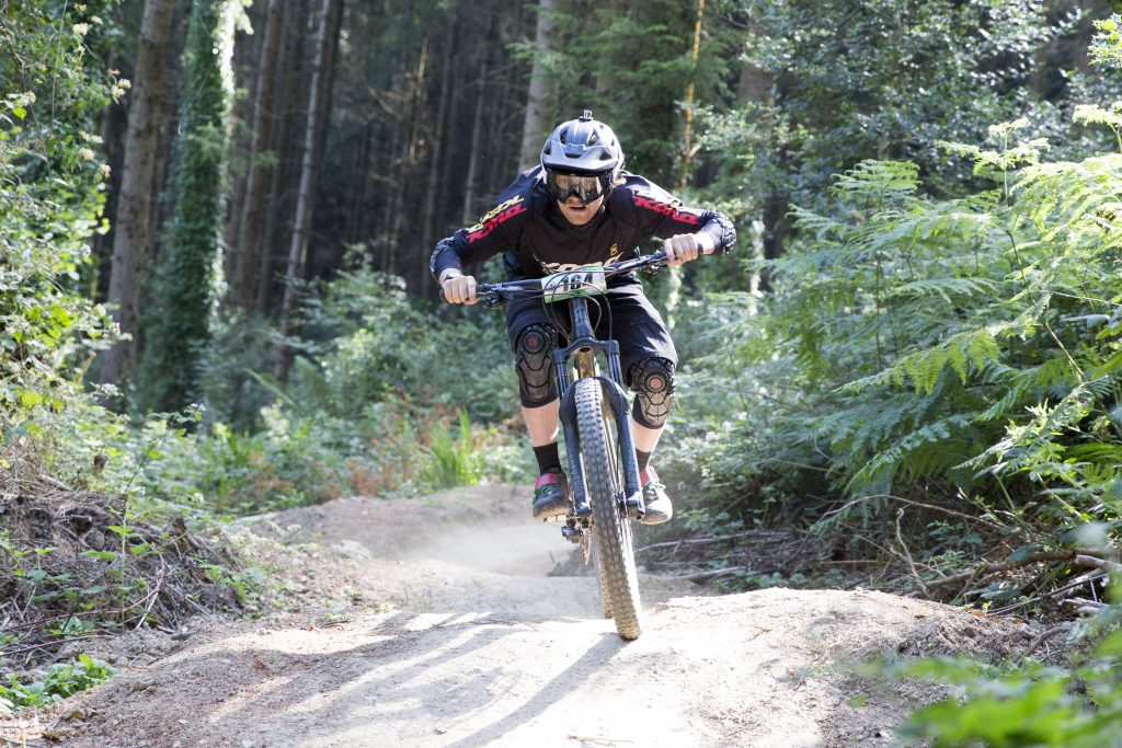 Kona MTB Rider Jonathan Maunsell at the Bree Grassroots Enduro