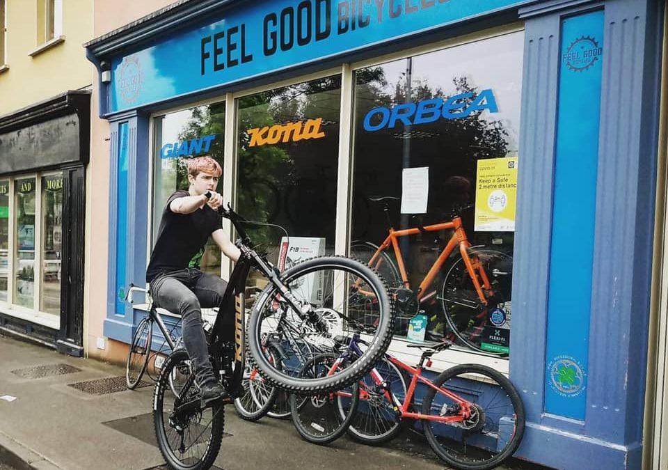 Happy 4th Birthday Feel Good Bicycles!
